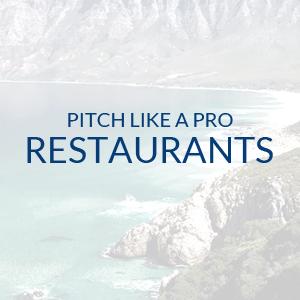 Pitch Like A Pro – Restaurant